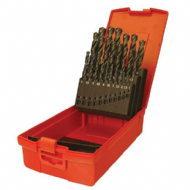 Dormer A190 No.18 HSS Drill Set in Metal Case - Imperial